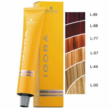 Coloration Igora Royal Fashion lights 60ml