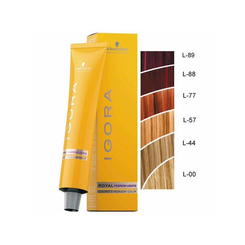 Coloration Igora Royal Fashion lights 60ml