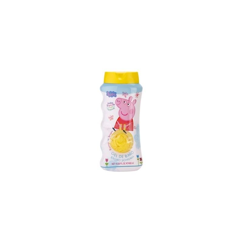 Peppa pig Gel douche 450 ml + Fleur de Bain