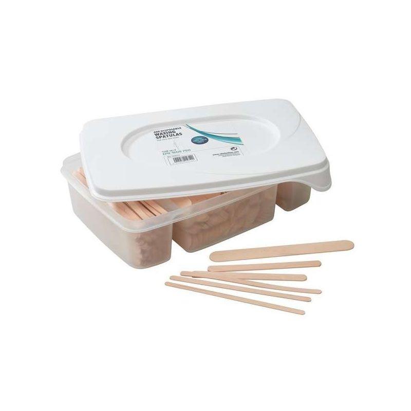 Boite 400 spatules en bois Sibel