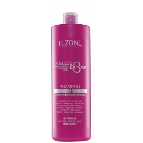 Shampoing anti age H-zone 250 ml , 1000 ml