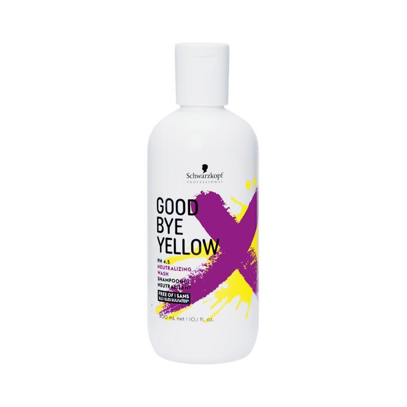 Shampooing Good Bye Yellow Schwarzkopf 300 ML