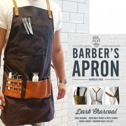Tablier Barbier DARK CHARCOAL Barber's Apron