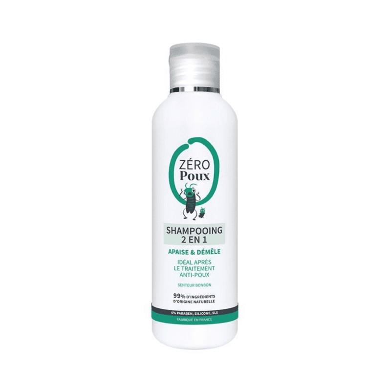 Zéropoux shampooing 2 en 1 Mulato 200 ml