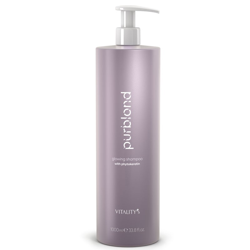PurBlond Glowing Shampoing 1000 ML Vitality's