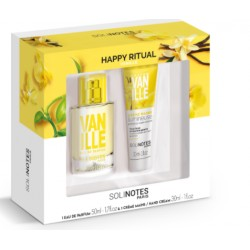 Coffret eau de parfum 50 ml et crème mains à la vanille 30ml Solinotes