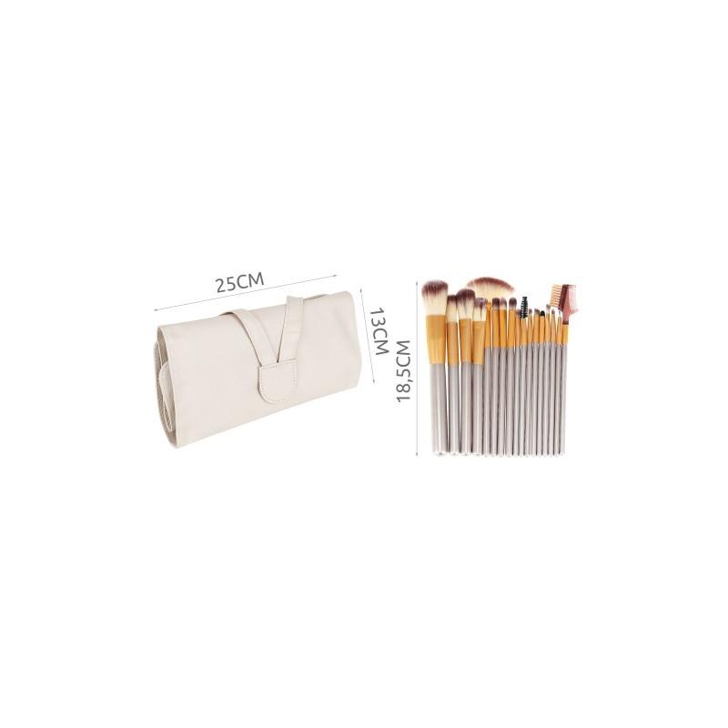 Trousse maquillage WHITE 18 pièces