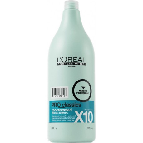 Shampoing PRO Classics X10 concentrated 1500ml