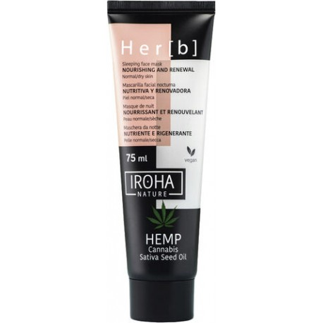 Her[b] Crème Visage Nutritive & Protectrice Iroha 50ML