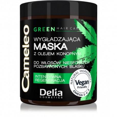 Masque lissant à l'huile de chanvre pour cheveux indisciplinés 250ml