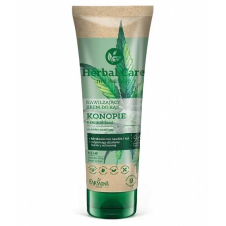 Crème Mains CHANVRE Herbal Care 100 ml