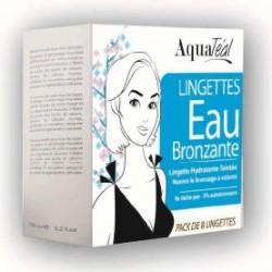 Lingettes Visage Eau Bronzante Boîte de 8 lingettes x 5 ml AquaTéal
