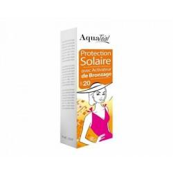 Lait Solaire Protection avec activateur de bronzage SPF20 100 ml AquaTéal