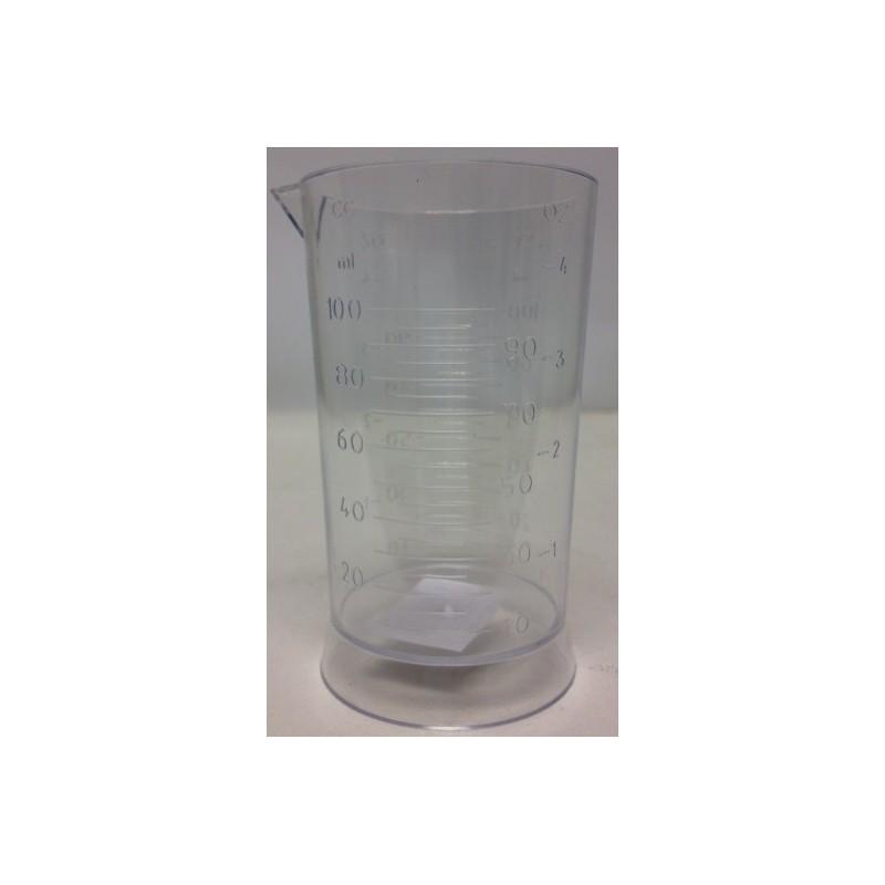 Doseur teint. 100 ml transparent